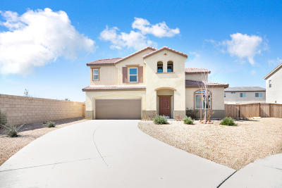 Rosamond Single Family Home For Sale: 2509 San Madrid Way