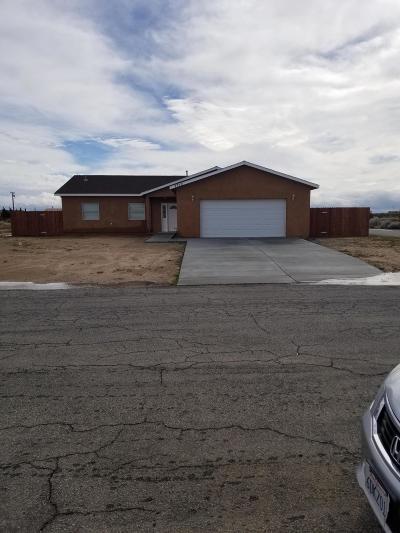 California City Single Family Home For Sale: 7710 Dogwood Ave. Avenue