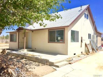 Littlerock Single Family Home For Sale: 9174 E Avenue S8
