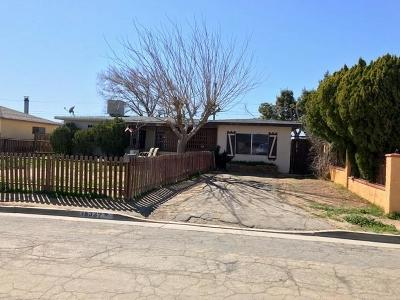 Mojave Single Family Home For Sale: 15339 Shirley Street
