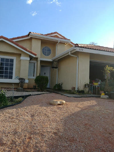 Palmdale Single Family Home For Sale: 222 Tahquitz Place