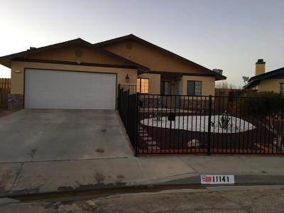 California City Single Family Home For Sale: 11141 Rome Beauty Drive