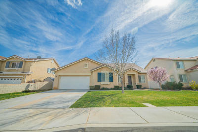 Palmdale Single Family Home For Sale: 2312 Rockrose Street