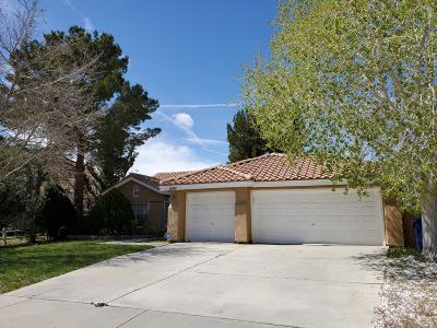 Palmdale Single Family Home For Sale: 37731 Wisteria