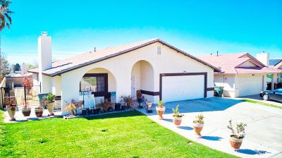 Rosamond Single Family Home For Sale: 2084 Natalie Drive