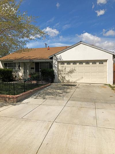 Palmdale Single Family Home For Sale: E 38609 32nd St. East Street