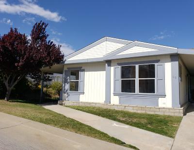 Acton Single Family Home For Sale: 33105 Santiago Road #Spc 41