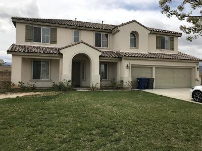 Lancaster Single Family Home For Sale: 3844 W Avenue M10