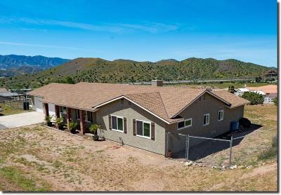 Acton Single Family Home For Sale: 33679 Cattle Creek Road