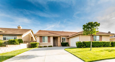Palmdale, Lancaster, Quartz Hill, Antelope Acres, Rosamond, Leona Valley, Lake Elizabeth, Lake Hughes, Juniper Hills, Littlerock, Llano, Pearblossom, Lake Los Angeles, Wrightwood Single Family Home For Sale: 5830 Marseilles Drive