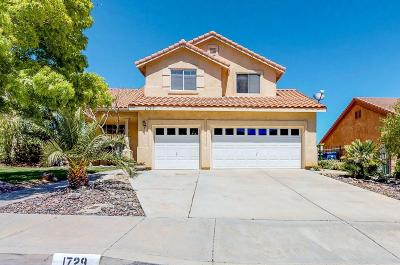 Palmdale Single Family Home For Sale: 1729 Date Palm Drive