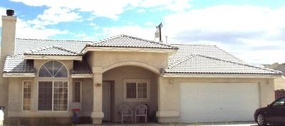 California City Single Family Home For Sale: 9124 Columbine