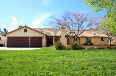Acton Single Family Home For Sale: 2478 Vista Del Monte Drive