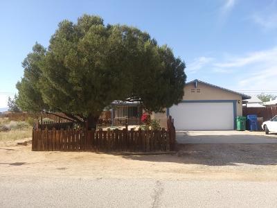 California City Single Family Home For Sale: 8361 Viburnum Avenue