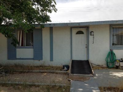 California City Single Family Home For Sale: 10732 Proctor Boulevard