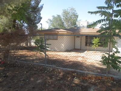 Pearblossom Single Family Home For Sale: 13135 E Avenue W-12