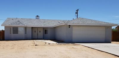 California City Single Family Home For Sale: 8200 Hemlock Avenue