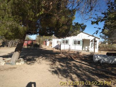 Pearblossom Single Family Home For Sale: 13215 E Avenue W4