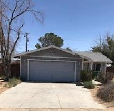 California City Single Family Home For Sale: 20849 California City Blvd