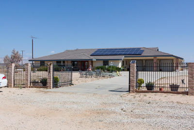 California City Single Family Home For Sale: 7027 Poppy Boulevard