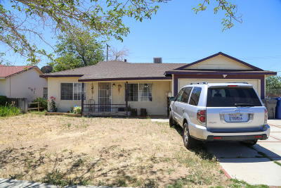 Palmdale Single Family Home For Sale: 232 Pictorial Street