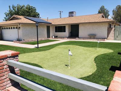 California City Single Family Home For Sale: 21416 Keller Court