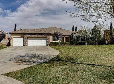 Lancaster Single Family Home For Sale: 41856 Firenze Street