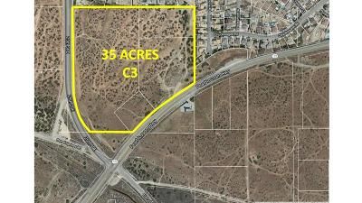 Palmdale Residential Lots & Land For Sale: 25th E & Pearblossom Hwy