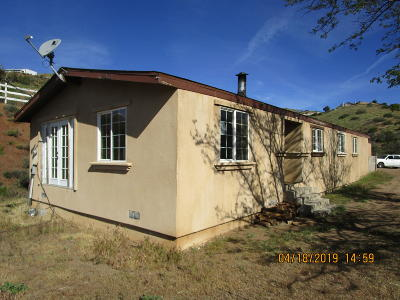 Acton Single Family Home For Sale: 33255 Margarita Hills Drive