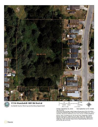 Eureka CA Residential Lots & Land For Sale: $190,000