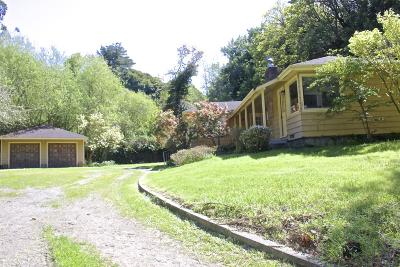 Fortuna Single Family Home For Sale: 2472 Drake Hill Road