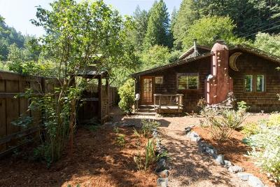 Arcata, Bayside Single Family Home For Sale: 5921 Jacoby Creek Road