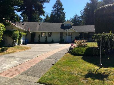 Eureka Single Family Home For Sale: 5655 Christine Drive