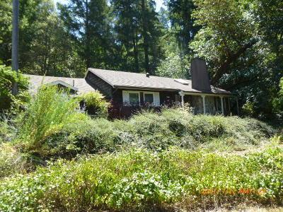 Garberville Single Family Home For Sale: 150 Fir Lane