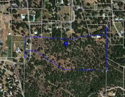 Hayfork CA Residential Lots & Land For Sale: $135,000