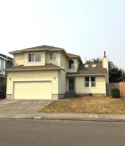 McKinleyville Single Family Home For Sale: 1171 Silverado Avenue