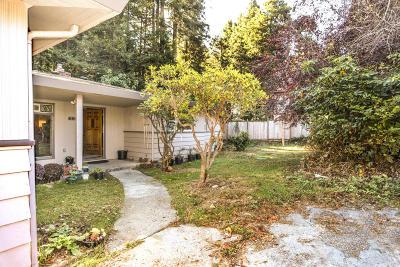 Eureka Single Family Home For Sale: 3651 Dolbeer Street