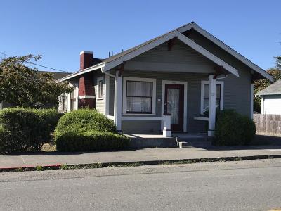 Arcata, Bayside Single Family Home For Sale: 607 F Street