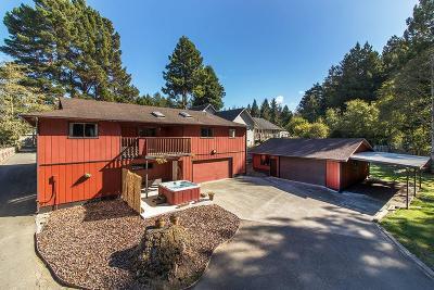 Eureka Single Family Home For Sale: 5064 Walnut Drive