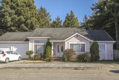 Eureka Single Family Home For Sale: 3333 Ingley Street