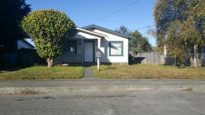 Eureka Single Family Home For Sale: 3312 Summer Street