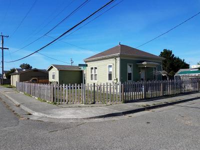 Eureka Single Family Home For Sale: 6742 Harrison Avenue