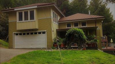 Shelter Cove CA Single Family Home For Sale: $395,000