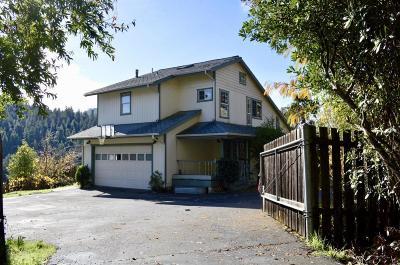 Garberville Single Family Home For Sale: 250 Joseph Lane