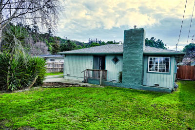 Fortuna Single Family Home For Sale: 1956 Becker Lane