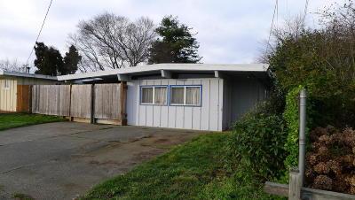 Eureka Single Family Home For Sale: 3421 Trinity Street