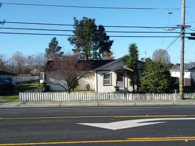 Fortuna Single Family Home For Sale: 3880 Rohnerville Road