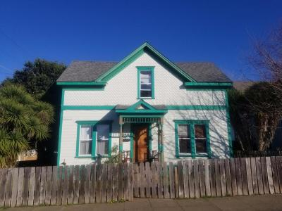 Eureka Single Family Home For Sale: 336 W Sonoma Street