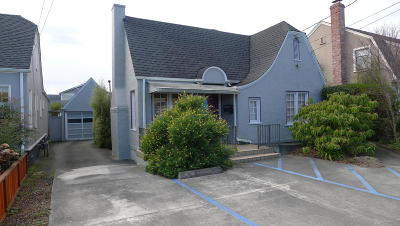 Eureka Single Family Home For Sale: 3122 F Street