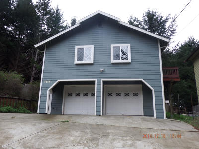 Whitethorn  Single Family Home For Sale: 566 Beach Road